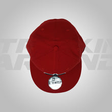Load image into Gallery viewer, RED WITH NAVY LOGO SNAPBACK NEW ERA