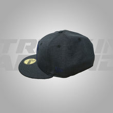 Load image into Gallery viewer, HEATHER NAVY FITTED HAT