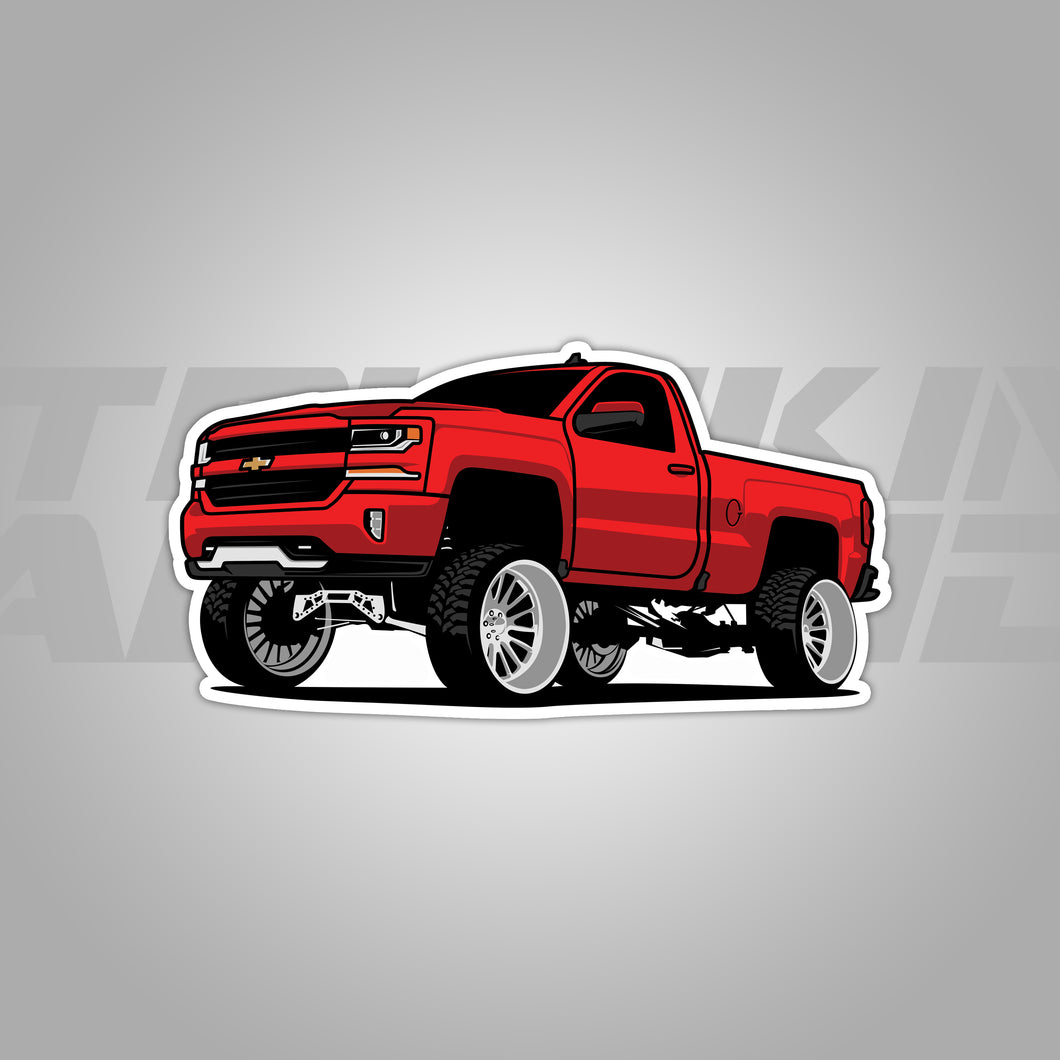 Red Lifted Z71