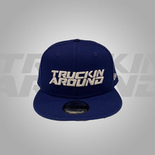 Load image into Gallery viewer, ROYAL BLUE FONT SNAPBACK