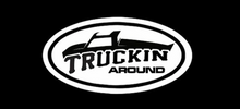 Load image into Gallery viewer, TRUCKIN AROUND ROUND LOGO DECAL