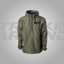 Load image into Gallery viewer, HOODIE WINDBREAKER 1/3 ZIPPER