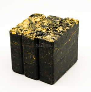 Charcoal & Honey Bar Soap with Shea Butter & Tea Seed Oil