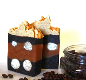 More Marshmallow High Top Soap Bars - Carrot, Paprika, & Cocoa - Kitchen Witch Co. - Kitchen Witch Co.