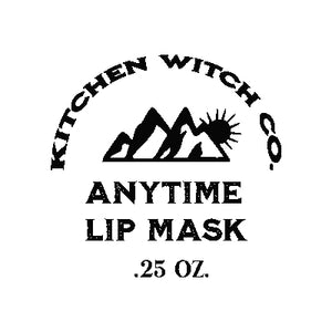 Anytime Lip Mask - Argan & Lanolin
