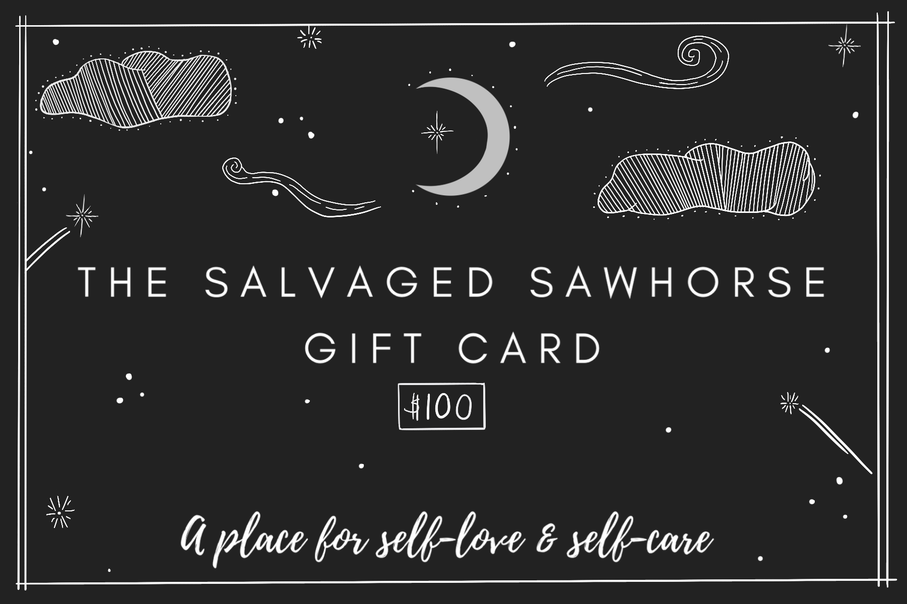 The Salvaged Sawhorse Gift Card