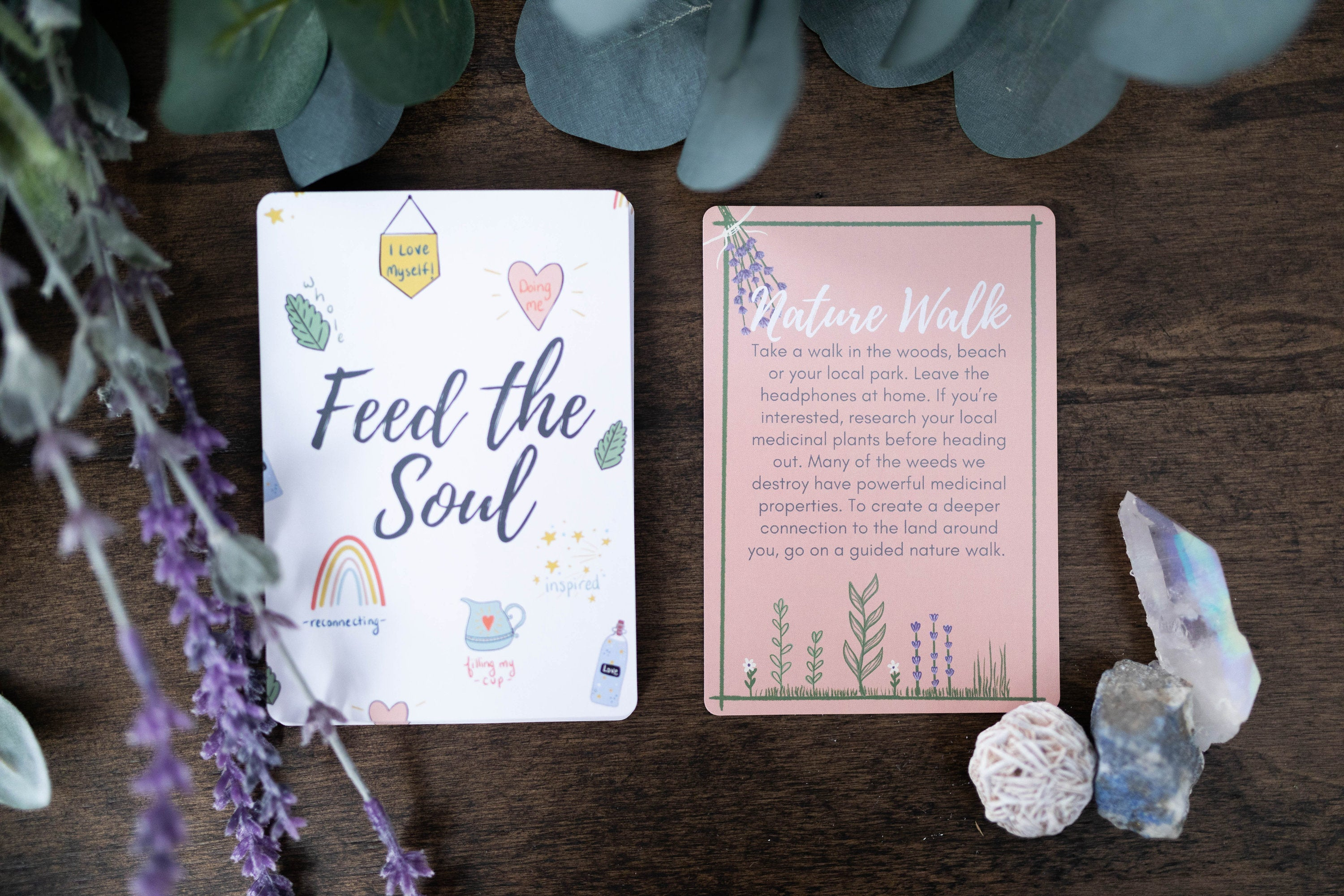 Feed your Soul Deck: Activities and Rituals to Inspire and Nourish Your Soul