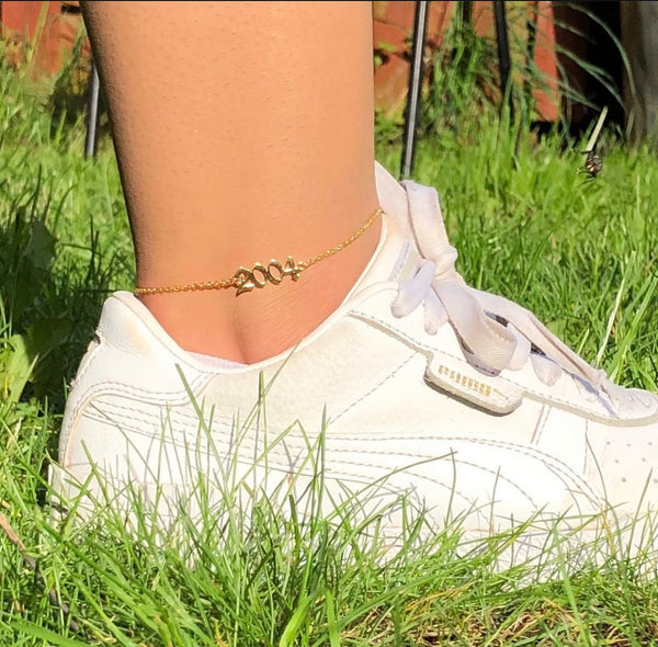 Birth Year Anklets