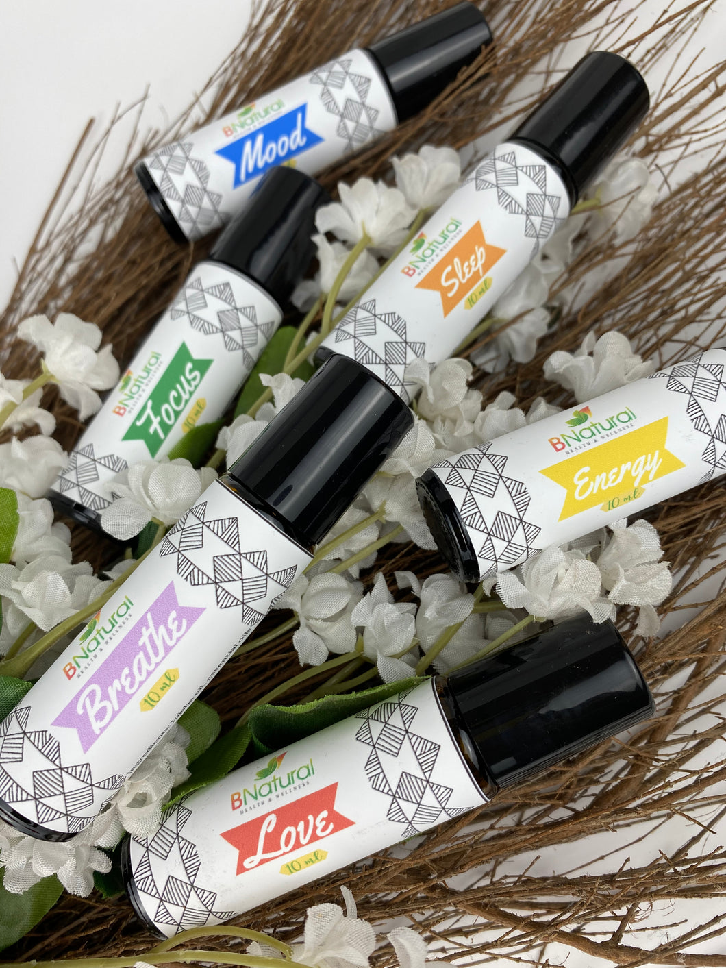 Roll-On Essential Oil Perfumes 10 ml