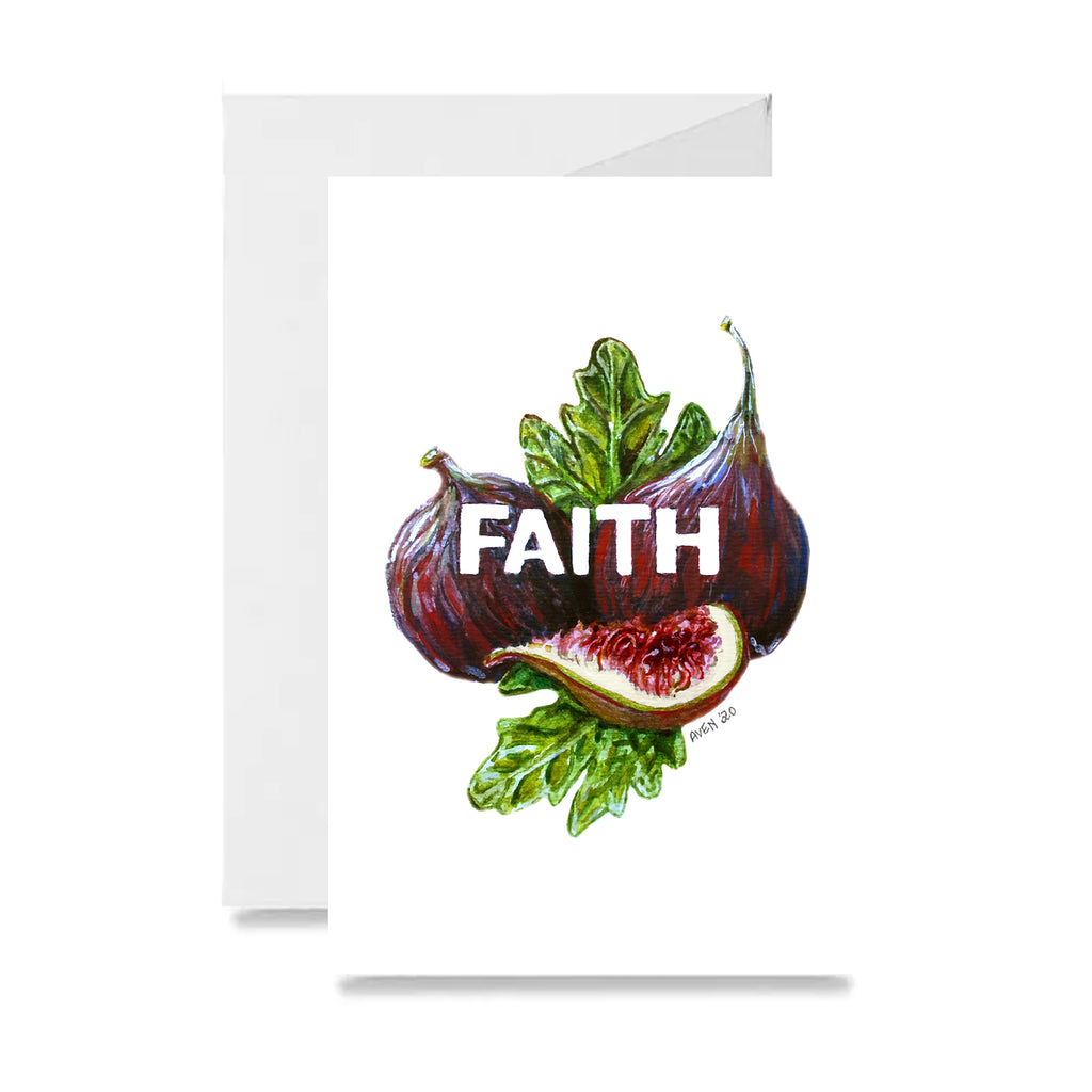 Purple Faith Figs Card