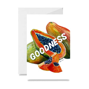 Papaya Goodness Card