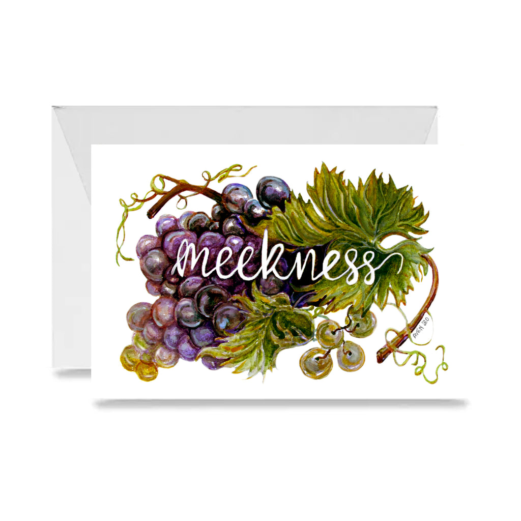 Meekness Card