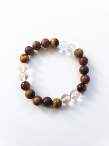 Neutral Thirds Gemstone Bracelet