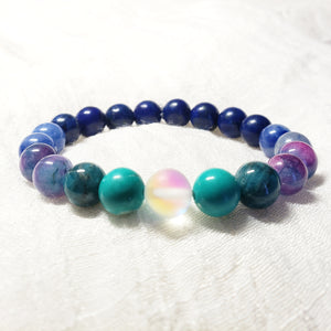 Water Gradient Gemstone Bracelet