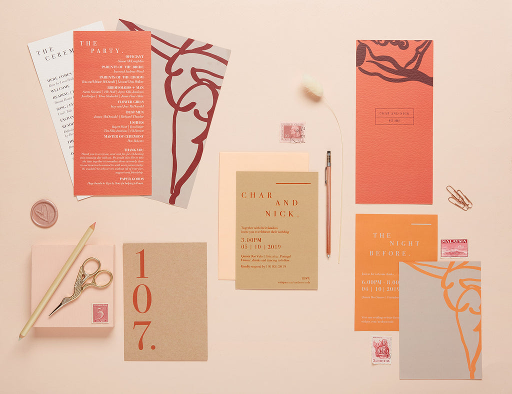 Sculpture Garden - Bespoke Wedding Stationery