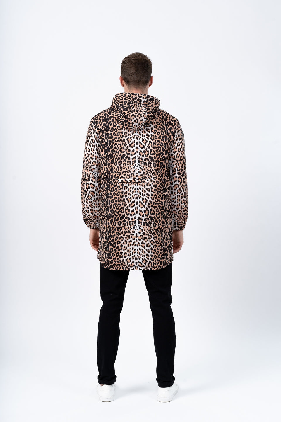 Amelot imperméable long leopard