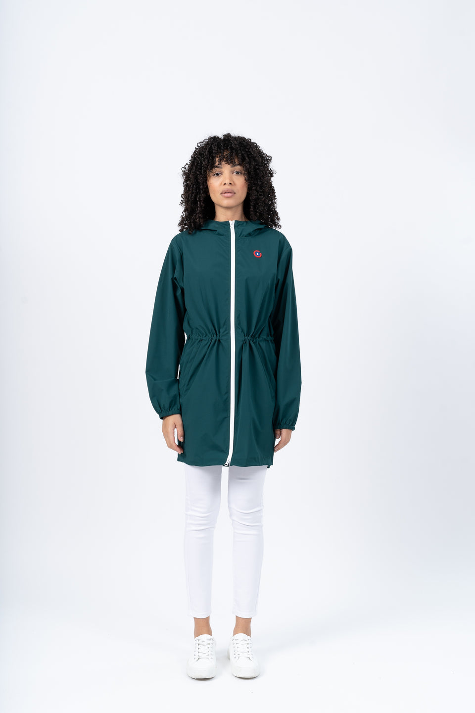 Amelot imperméable long sapin