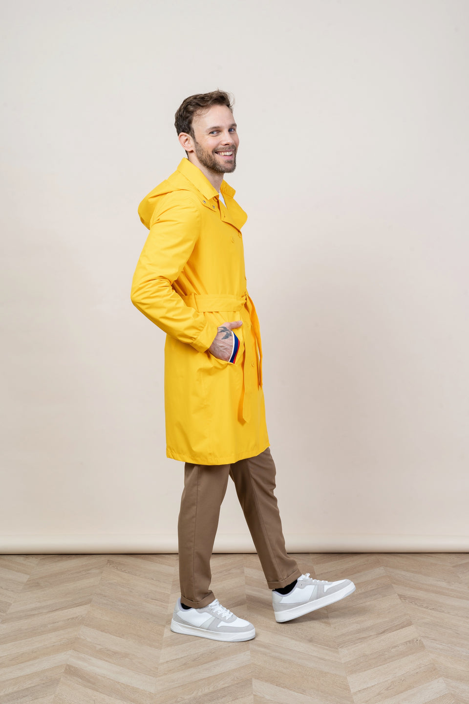Trench Beaumarchais Citron