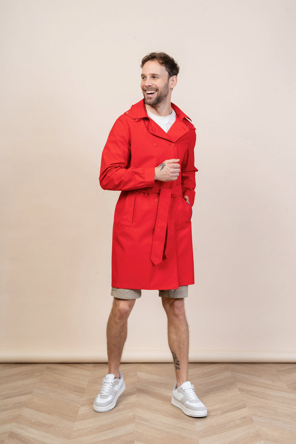 Beaumarchais Red Trench