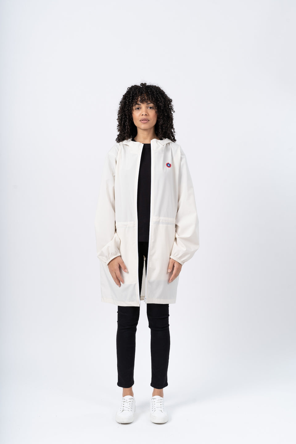 Amelot imperméable long écru