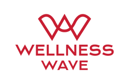 Logo Wellness-Wave rouge