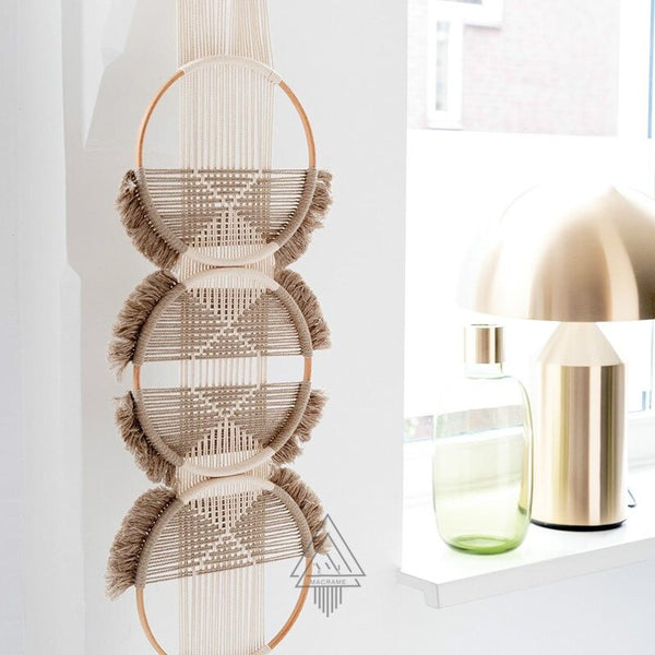 Three Rings Woven Wall Hangings - AJOONII