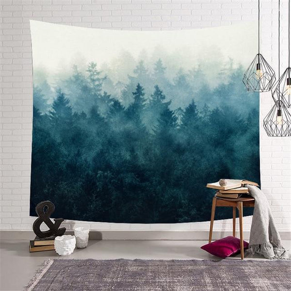 Forest View Wall Tapestry