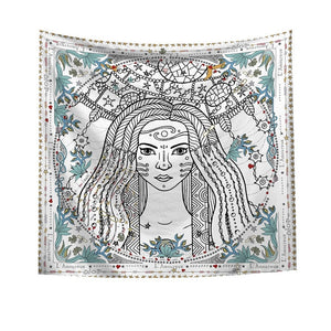 The Goddess Tarot Wall Tapestry - AJOONII
