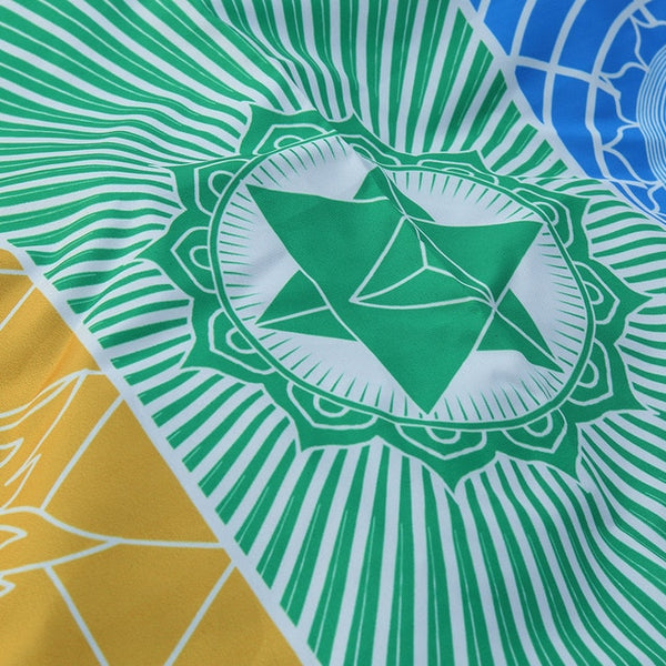 Chakra Yoga Tapestry and Beach Towel - AJOONII