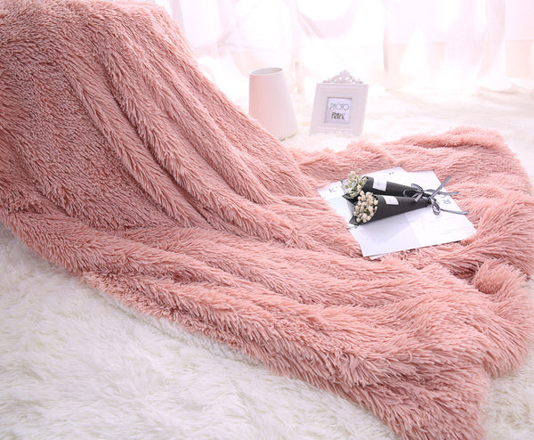 Ultra Soft Manta Fleece Anti-Pilling Blankets and Throws - AJOONII