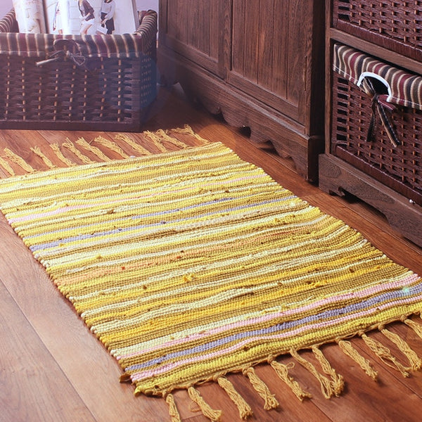 Nordic Multi Color Weave Rugs - AJOONII