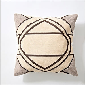 Pastel Embroidered Cushion Covers - AJOONII