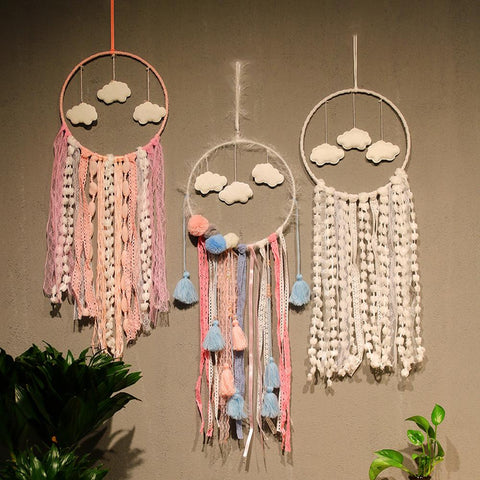 Colorful Dream-catcher Wall Hanging - AJOONII