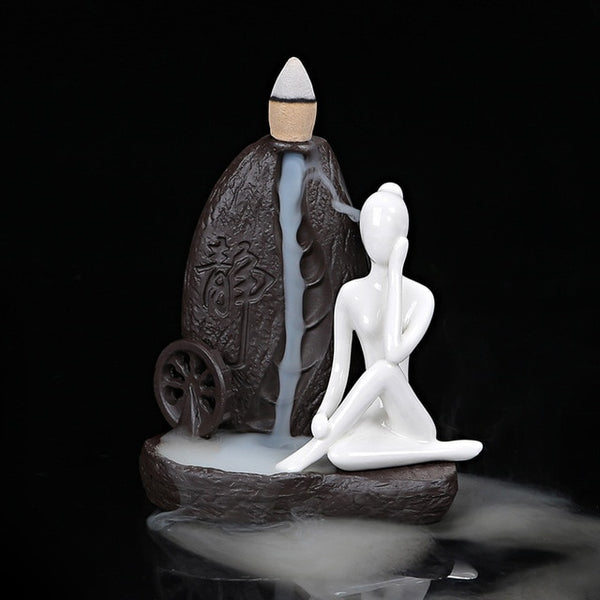 Back Flow Incense Burner | AJOONII