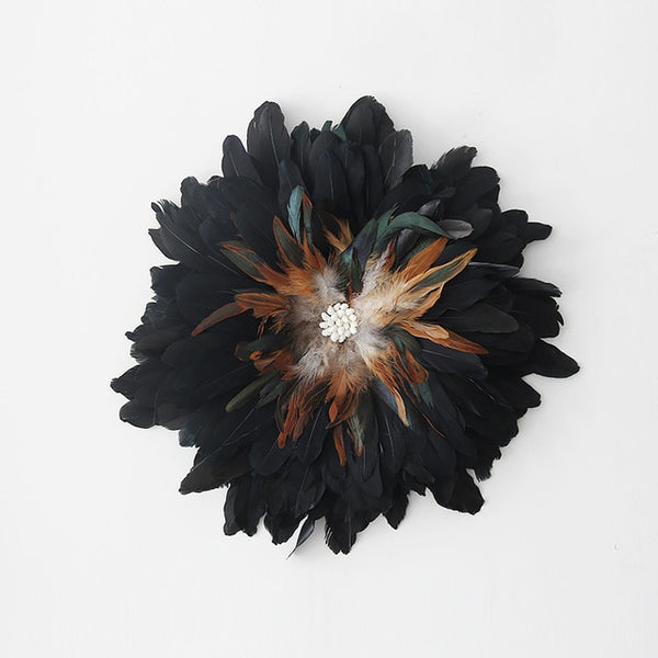 Handmade Feather Wall Hanging - AJOONII