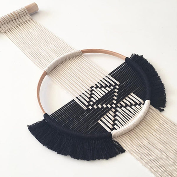 Rope Art Wall Hanging - AJOONII