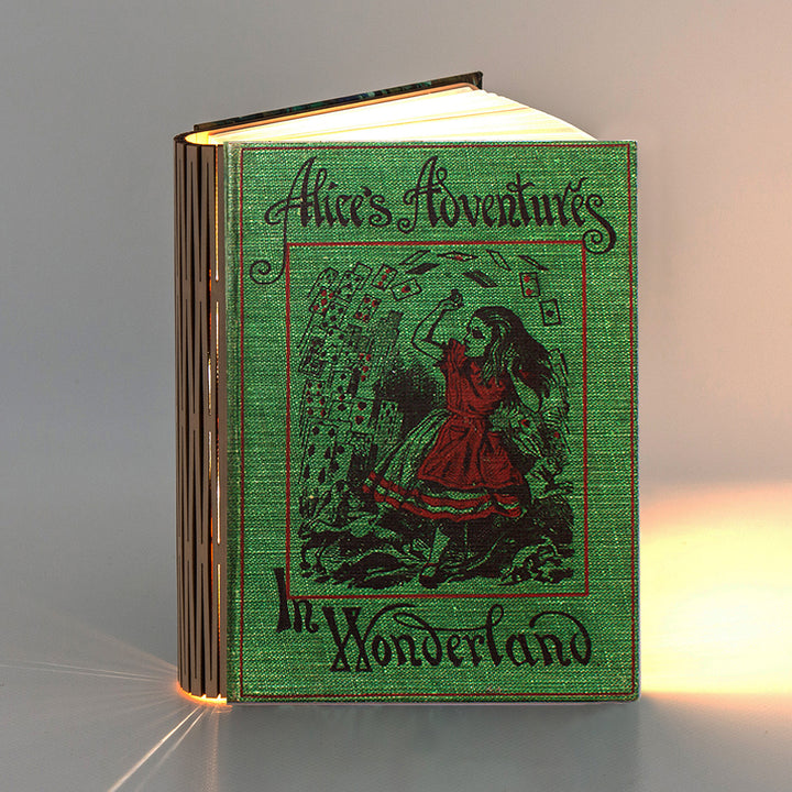 Classic Book Light - Alice in Wonderland