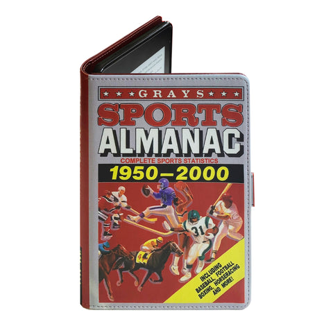 Sports Almanac Back to the Future - Luxury Faux Leather Case - Kindle Oasis