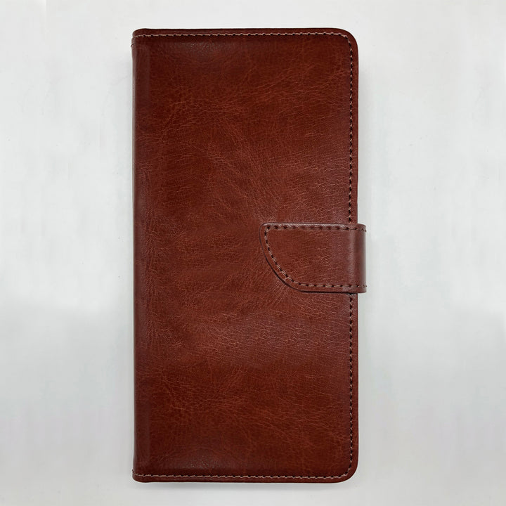 Personalised Faux Leather iPhone Case - Brown