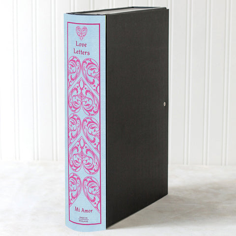 Hardback Book File - Hearts