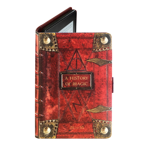 History of Magic - Luxury Faux Leather Case - Kindle Oasis