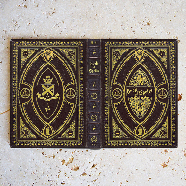 Book of Spells Case - Hufflepuff Themed