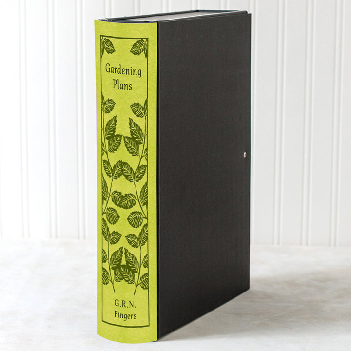 Hardback Book File - Leaves