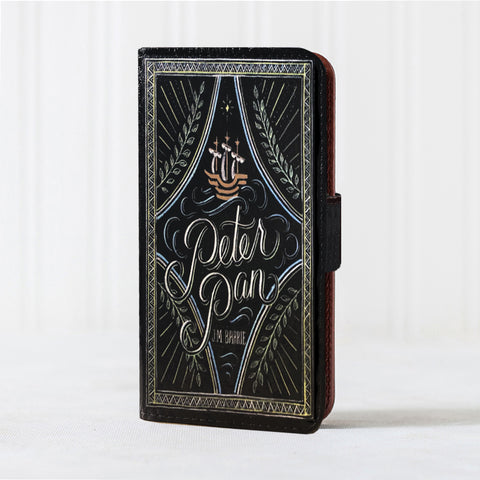 v-Leather Book Case - iPhone 6/7/8 - Peter Pan