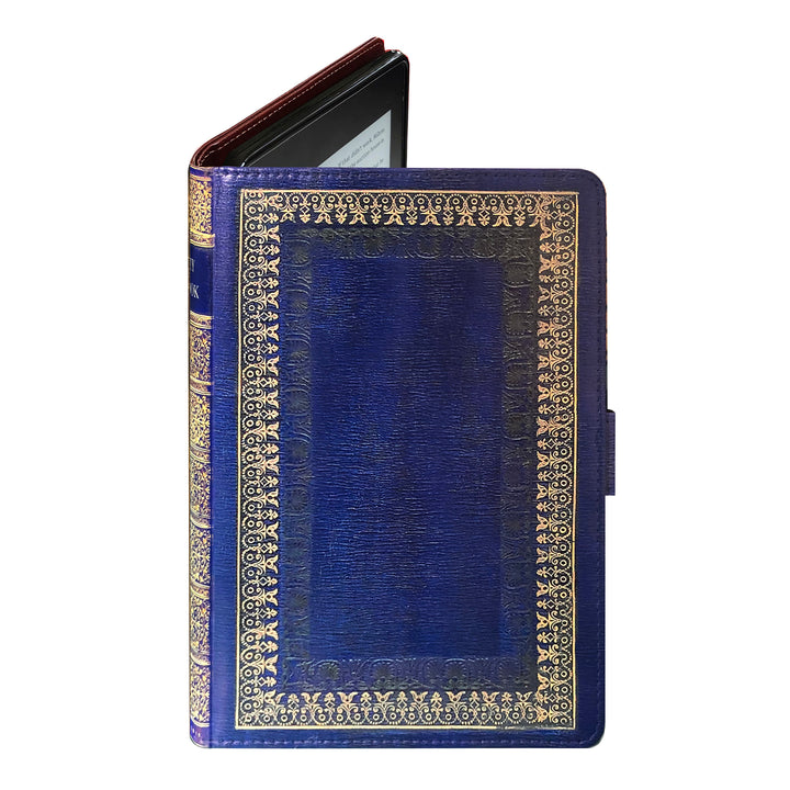 Royal Blue My Book - Luxury Faux Leather Case - Kindle Paperwhite