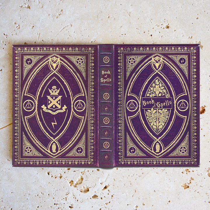 Book of Spells Case - Purple