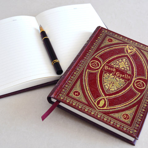 Book of Spells Notebooks - Hogwarts Colour Range