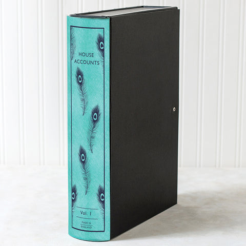 Hardback Book File - Peacock