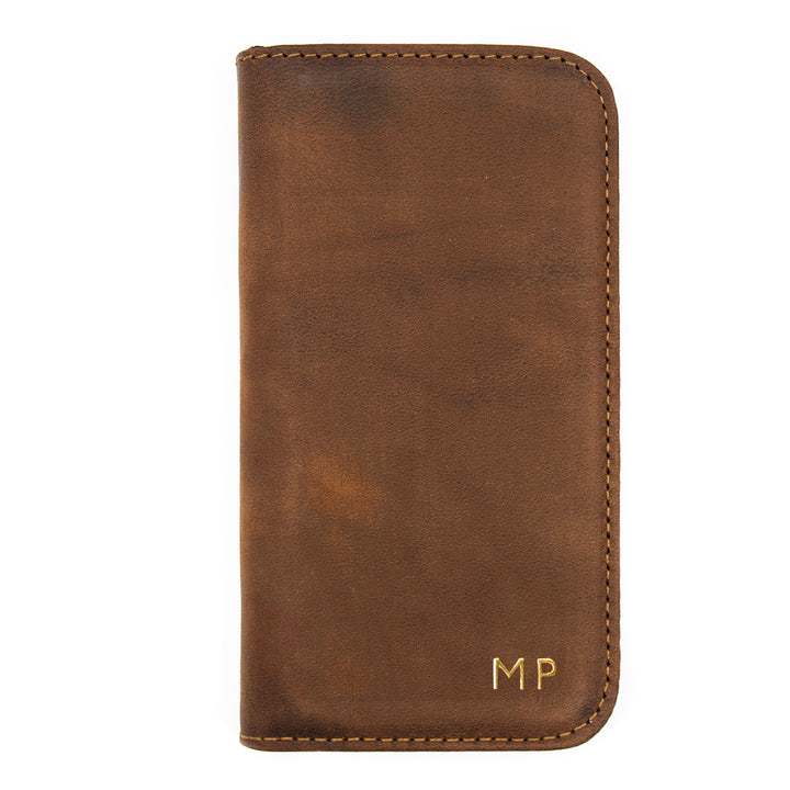 Luxury Leather iPhone Case - New Vintage Colours