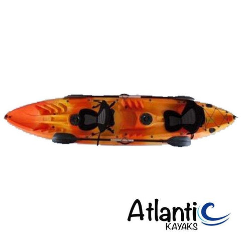 Atlantic Explore - Orange/Yellow - Atlantic Kayaks & Leisure